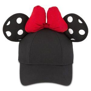Disney Baseball Cap - Minnie Mouse Polka Dot Ears